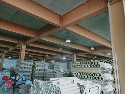 贵州纸管批发厂区展示